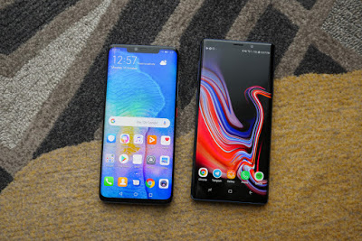The fight: Samsung Galaxy Note 9 vs Huawei Mate 20 Pro