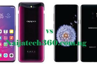 Oppo Find X vs Samsung Galaxy S9 Plus 38