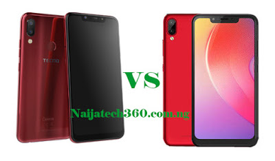 Tecno Camon 11 vs Infinix Hot 6X