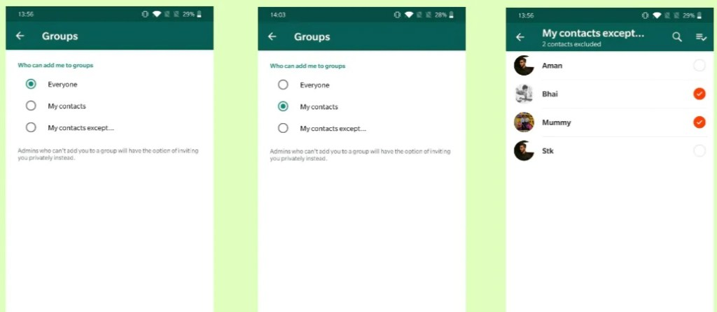 How to Stop People From Adding You to WhatsApp Groups 29