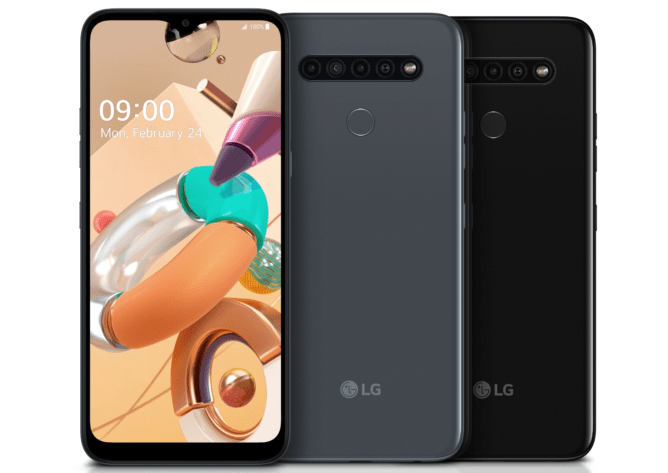 LG K16, K51S, and K41S
