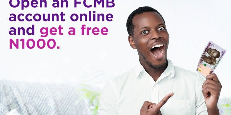 How to get the FCMB 1000 Naira cash reward easily 1