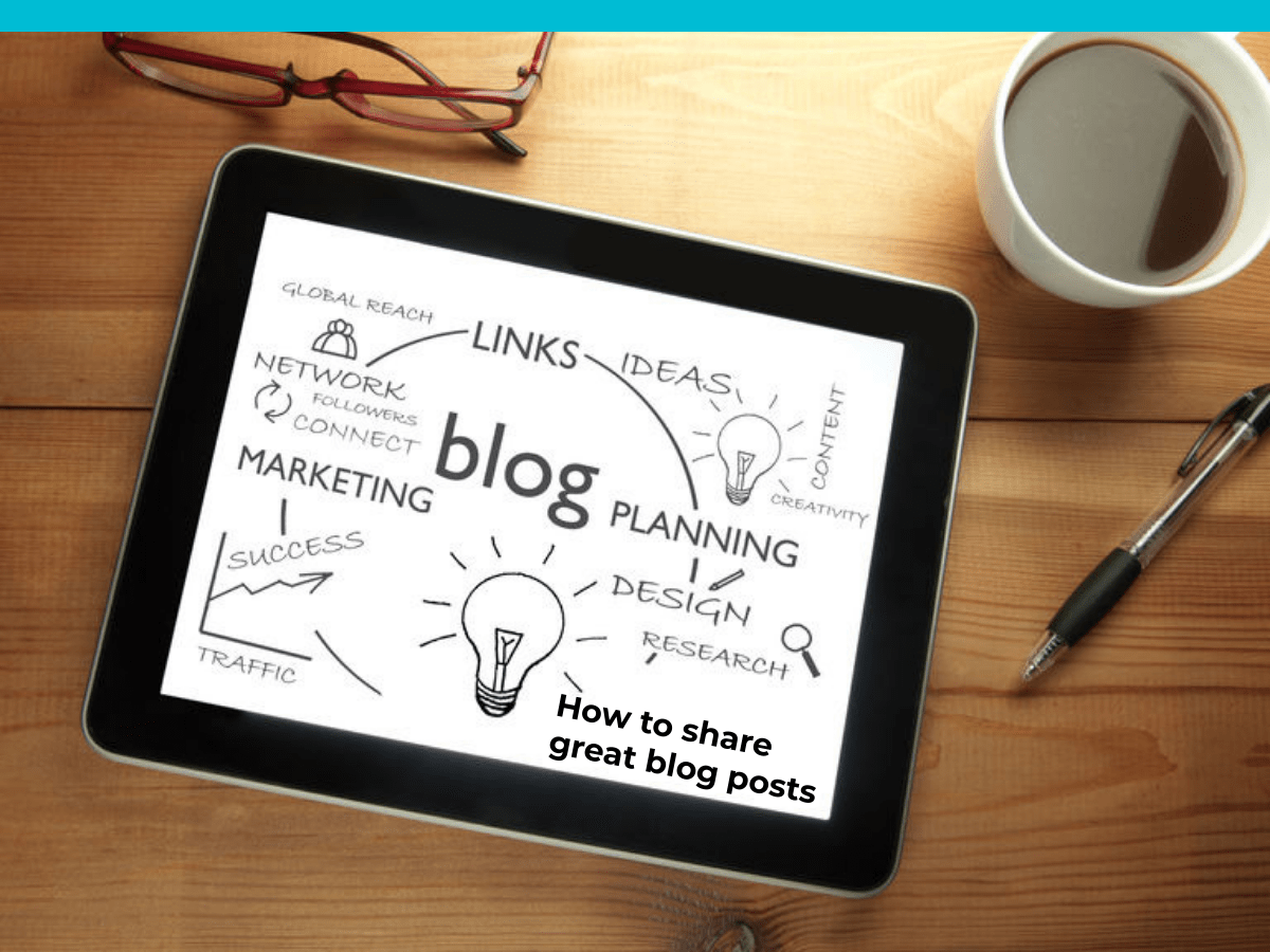 Blogging 103: How to share great Blog posts 1