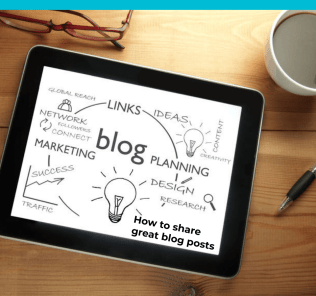 Blogging 103: How to share great Blog posts 53