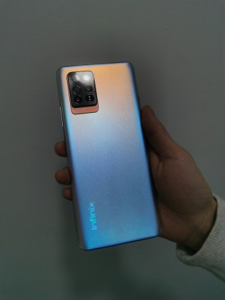 Infinix Note 10 Pro appears in live images with quad camera and hole punch 3