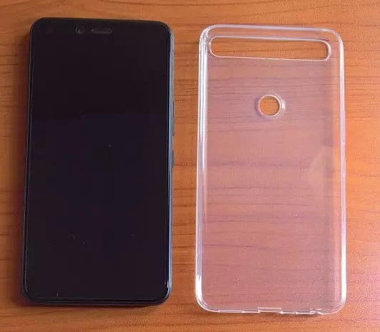 Infinix Zero 5 with the Phone Case provided in box