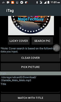 How To Put Your Website Image As Music Album Art With Your Android Device 1
