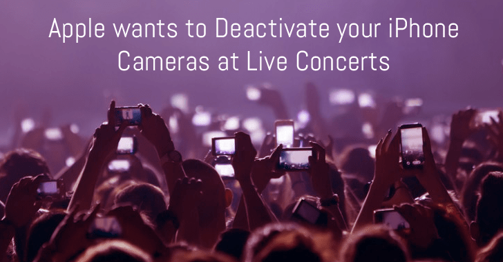 Apple Patents Technology That Can Turn Off Your Device Camera At Events 2