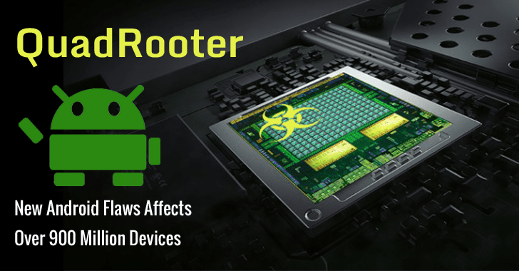 QuadRooter Malware -  About 900 Million Android Devices Affected 2