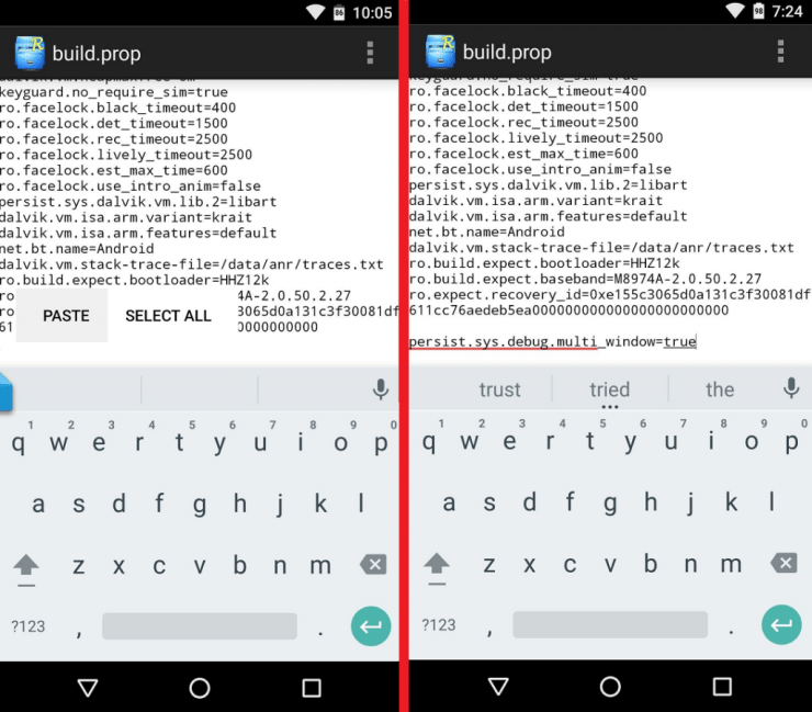How To Enable The Multi-window Hidden Feature On Android 6.0 5