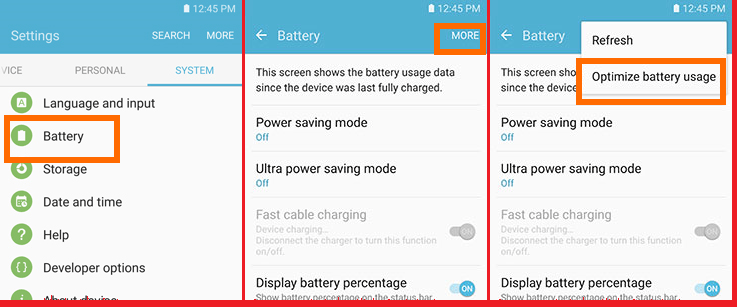 How To Optimize Your Battery To Last Longer On Galaxy S7 and S7 edge 2