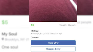Someone Just Tried To Sell His Soul On Facebook MarketPlace 2