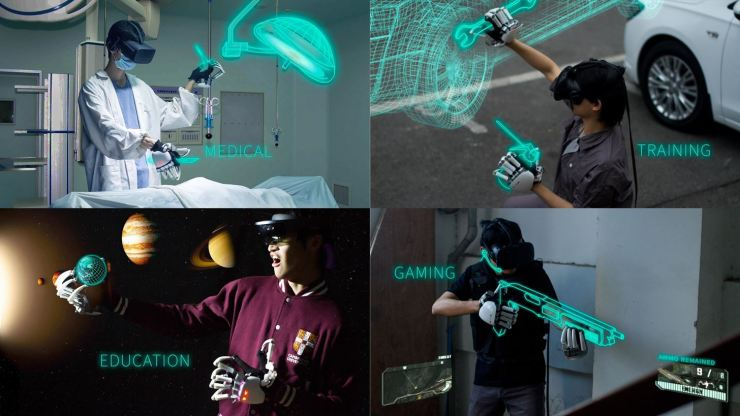 This Virtual Reality Gloves Help You Touch VR Objects 3