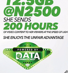 Glo Introduces 180GB Data Plan - See How Much It Costs And Subscription Code 27