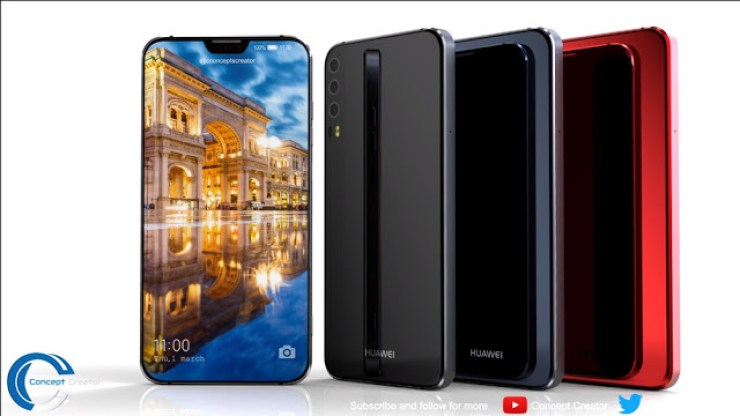 This Huawei P11 Concept Looks So Much Like A Better Version Of The iPhone X With A 40MP Camera 2
