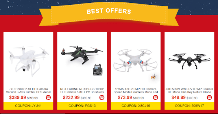 RC Moments Christmas Carnival Offers Drones And RC Gadgets At Affordable Prices 5