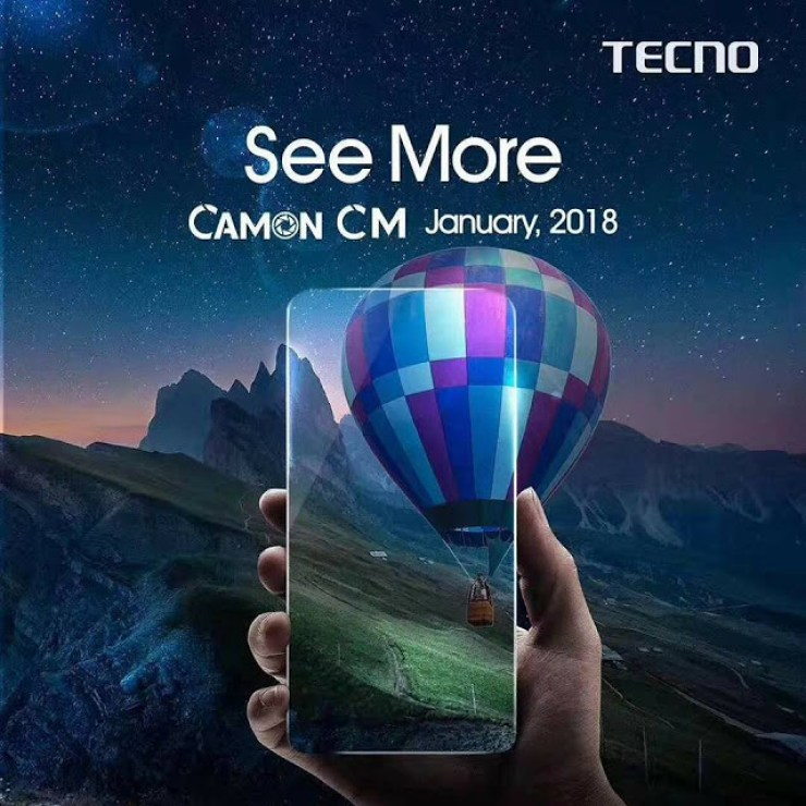 Tecno Drops Teaser Images For The Tecno Camon CM - It May Come With A Full View Display 3