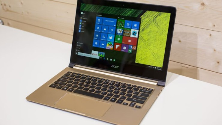 "CES 2018 : Acer Unveils The ""Slimmest"" Laptop In The World - See Specs + Photos 5"