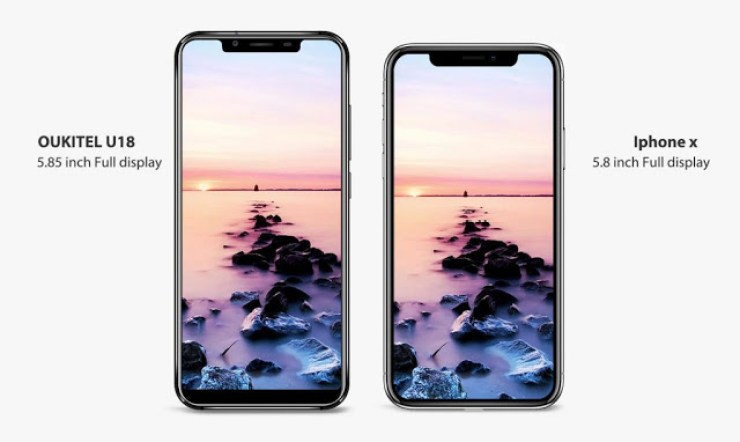 Oukitel Releases Clone Of iPhone X That Costs Less Than N60,000 - Oukitel U18 2