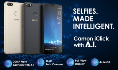 Tecno Releases The Tecno Camon iClick - See Price And Specifications In Nigeria 23