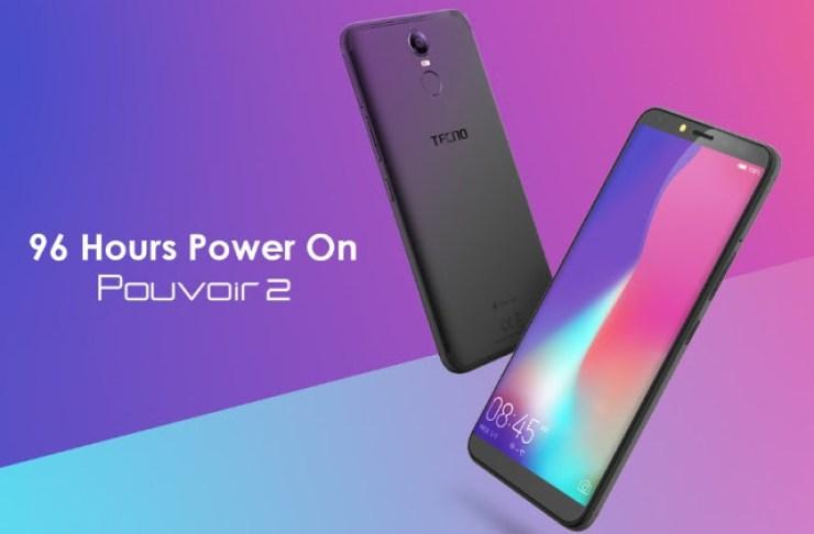 Meet Tecno Mobile's New Smartphone With A Killer 5000mAh Battery - Tecno Pouvoir 2 2