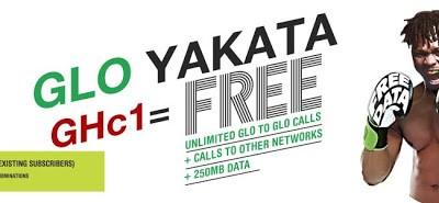 How To Get Up To 6GB Of Data Free On Glo's New Tariff Plan - Glo Yakata 5