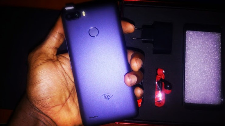 Check Out The iTel P32 Smartphone - An Affordable Smartphone With A Massive Battery - Unboxing And First Impressions 6
