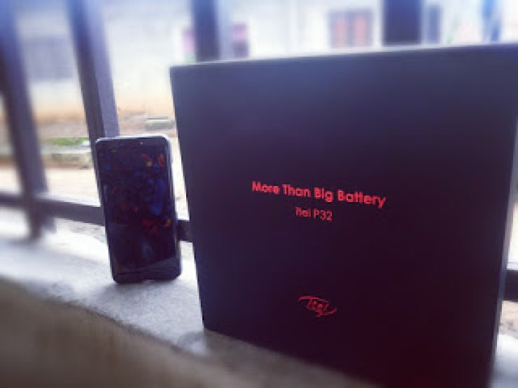 Check Out The iTel P32 Smartphone - An Affordable Smartphone With A Massive Battery - Unboxing And First Impressions 3