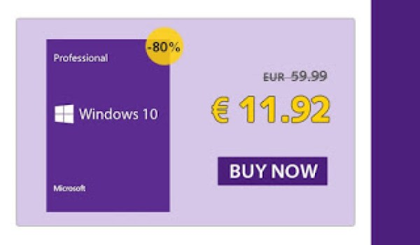 SCDKey is Offering 10% Discount On Purchase Of Windows 10 Pro Key 27