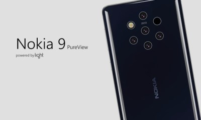 Video : An Exclusive Look At Nokia's New 5 Camera Phone - Nokia 9 Pureview 9