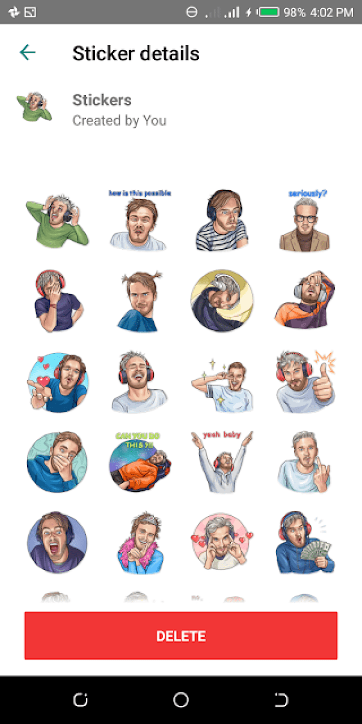 Download Stickers For WhatsApp - The Best Collection Of Whatsapp Stickers On The Web 10