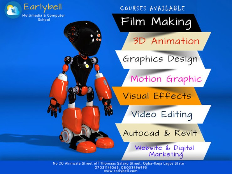 Make Money From 3D Animation,Graphics And Video Fx - Enroll For EarlyBell Courses 22