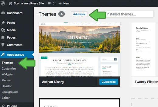 How To Easily Start A Blog On WordPress With Free Themes 26