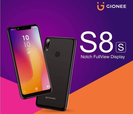 Gionee S8s Price In Nigeria