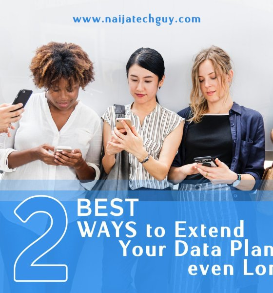 2 Best Ways to Extend your Data Plan 13