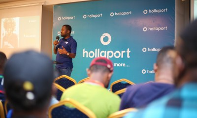 Press Release : Kabiru Rabiu Launches Hollaport App 35