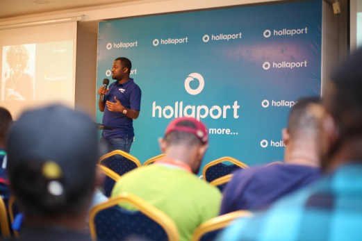 Press Release : Kabiru Rabiu Launches Hollaport App 12