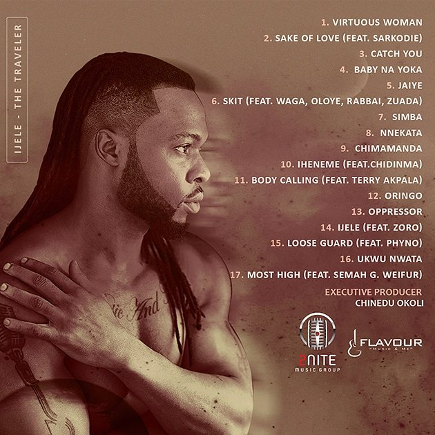 Flavour Ijele The Traveler Album