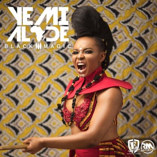 Yemi Alade Black Magic Album Artwork