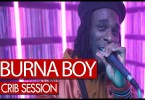 Burna Boy Freestyles on Tim Westwood's Crib Session Video