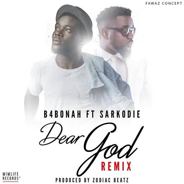 B4Bonah Dear God (Remix) Artwork