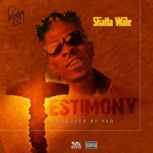 Shatta Wale Testimony Artwork
