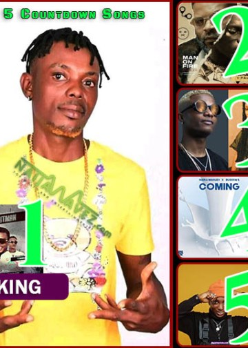 Naijawavez Top 5 List - Lil Kesh React After Falling Twice On Stage With Young John (ENTERTAINMENT)
