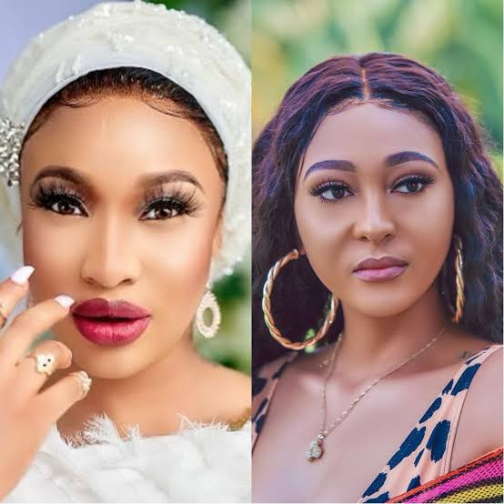 """60ad5f794fdbe - """"I chop your own, you chop another. We dey recycle ourselves"""" Rosaline Meurer responds after Tonto Dikeh said going back to your ex is like going back to your vomit"""