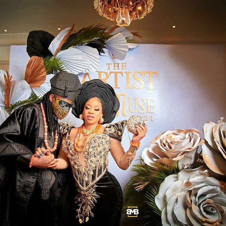 60c4dd0d83783 - First photos and videos from Toyin Lawani's traditional wedding