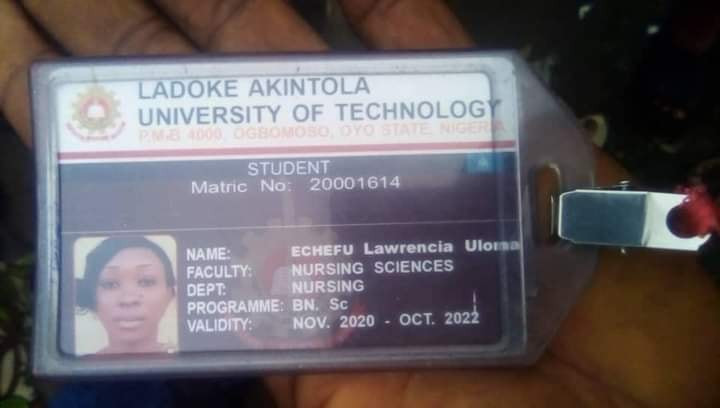 Hit-and-run driver knocks down LAUTECH female student in Lagos