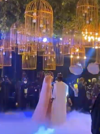 61202e402d6bf - First photos and video from wedding dinner of President Buhari's son, Yusuf