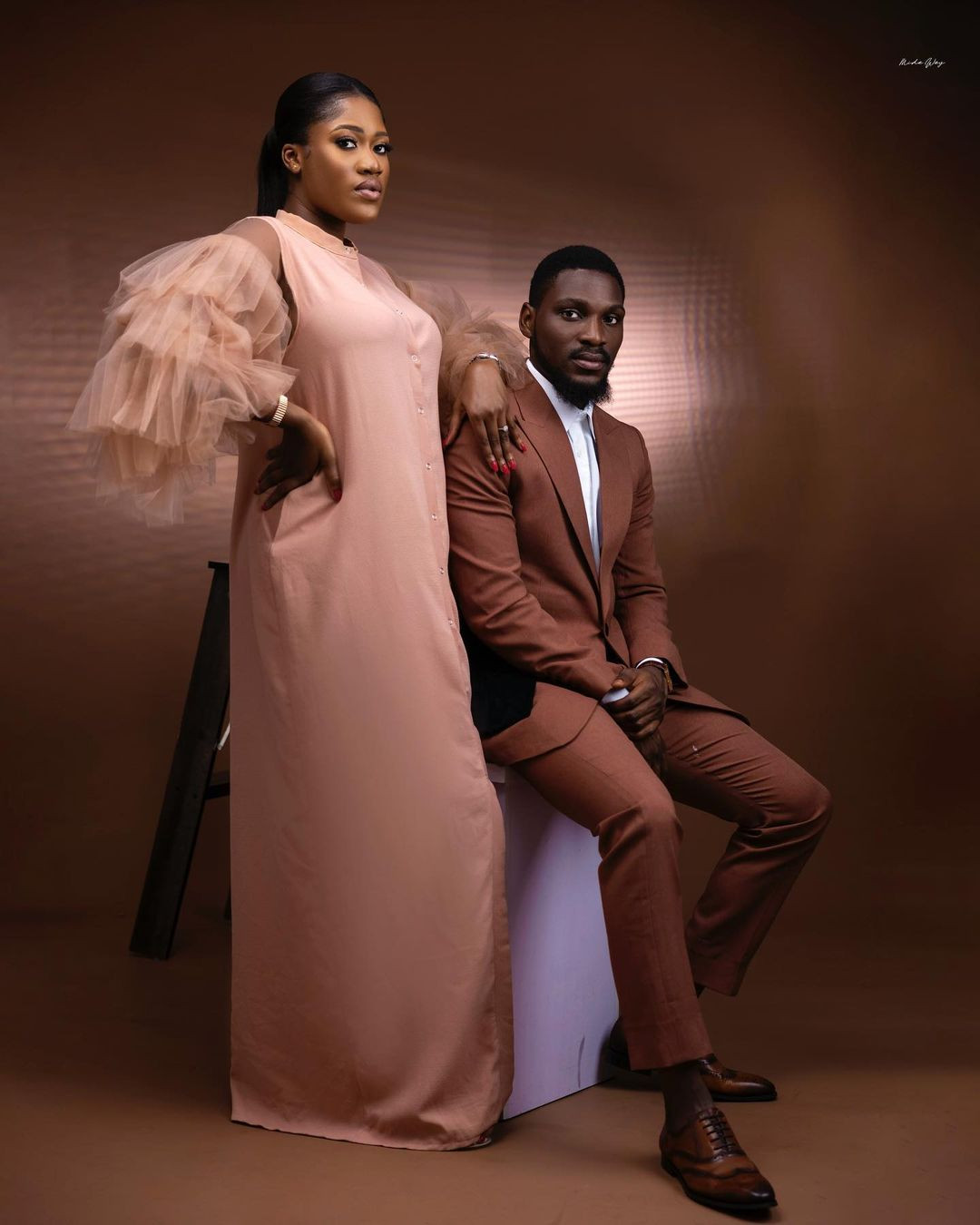 61209c0156c84 - ''I prayed and you came'' Tobi Bakare, gushes over his bride-to-be as he shares more pre-wedding photos
