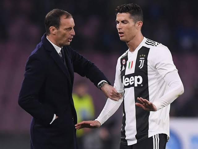 Juventus manager denies reports that Cristiano Ronaldo refused to start for the club in first game of the season amid transfer rumors