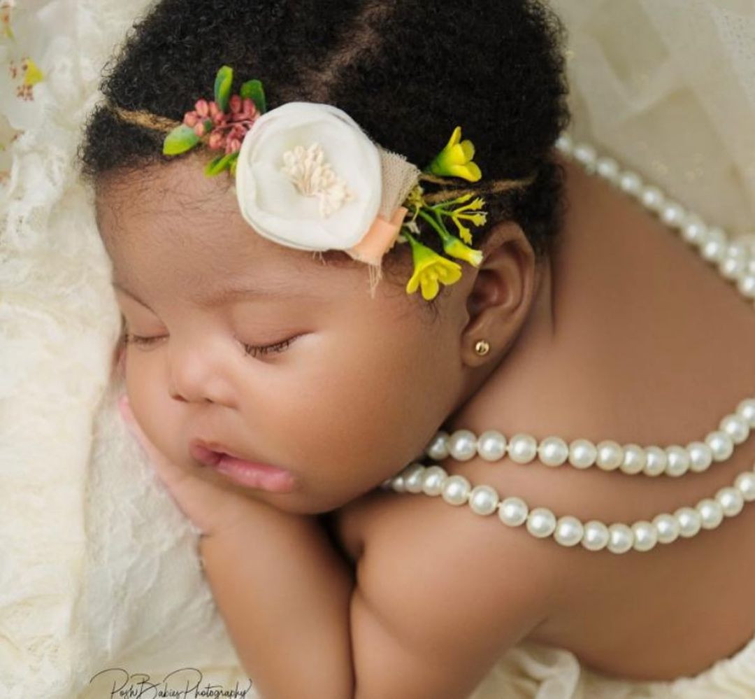 612e149a4cb78 - ''I now have to buy a new gun''- Comedian Basketmouth jokingly says as he shares adorable photos of his baby girl